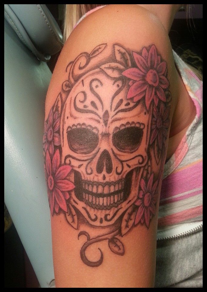 Sugar skull by Jared1481