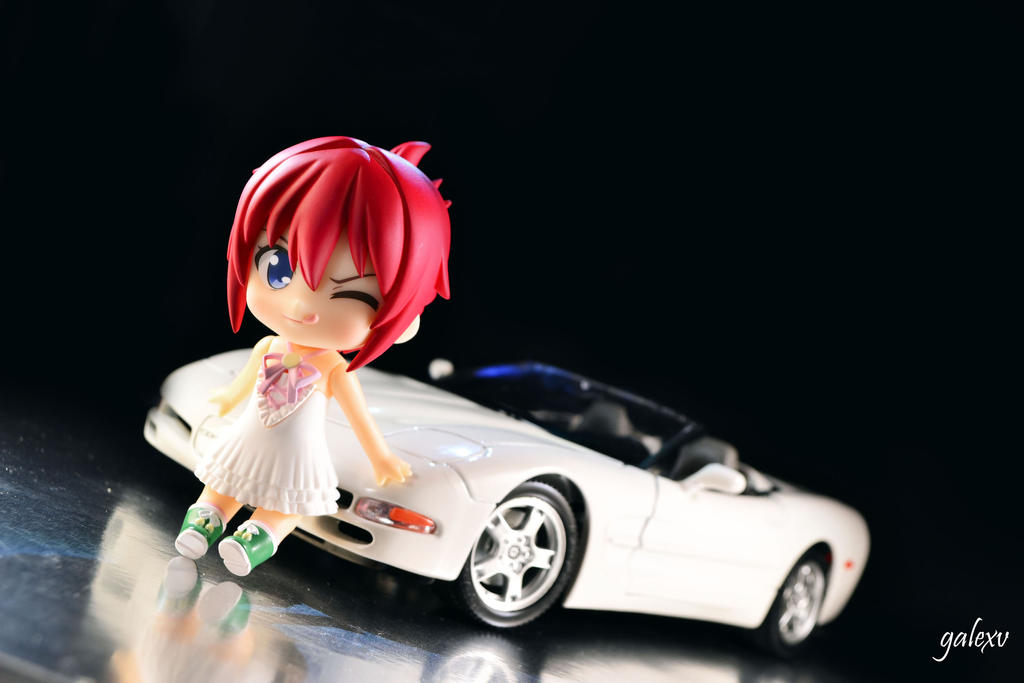 Aoi Chan With 1997 Chevrolet Corvette C5 By Gale015 On Deviantart