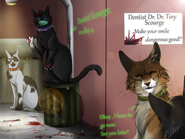 The BloodClan dentist by Blue-Krew