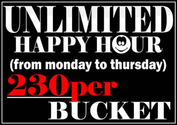 UNLIMITED HAPPY HOUR by mrclement