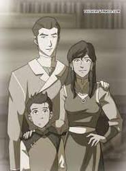 Korra Mako Family