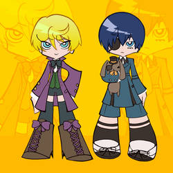 Alois+Ciel with Bitter Rabbit