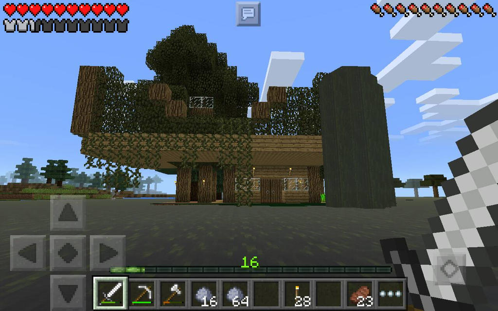 My Minecraft Swamp House By Misspolarbear12 On Deviantart