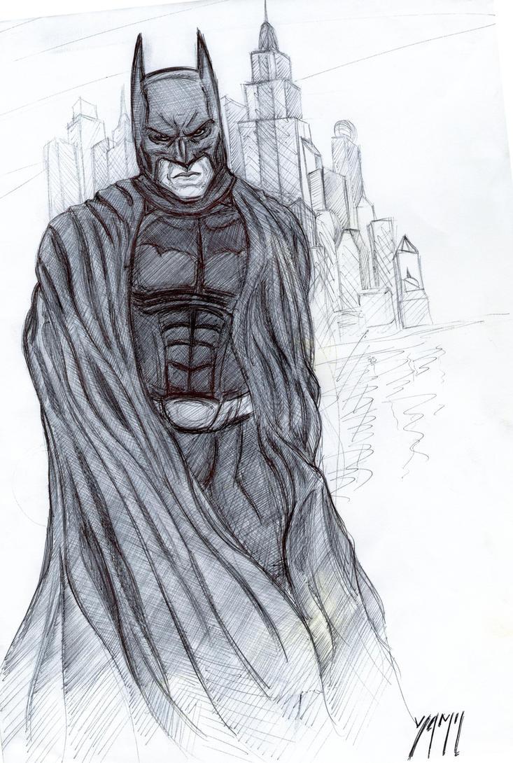 Batman Begins By YamTorresIlustrador On DeviantArt
