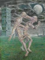 Enferma simbiosis ( serie Desequilibrios) by YamTorresIlustrador