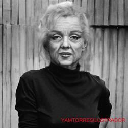 Old Marilyn Monroe- Marilyn Monroe vieja by YamTorresIlustrador