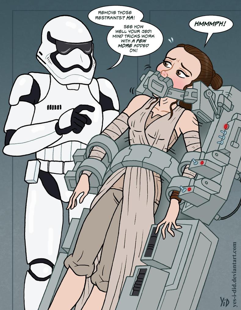 Star wars bondage art