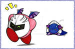 Give back my mask, Kirby...