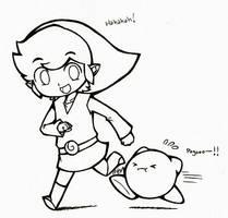 Run Kirby Runnn XD by IX-Demyx-IX