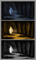 Cave concept by jue827