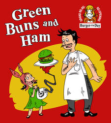 Green Buns and Ham by liu-psypher