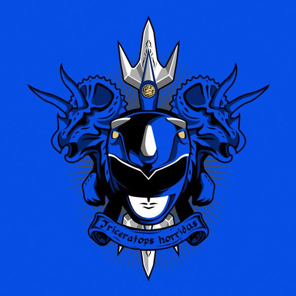 Mighty Morphin Power Rangers Wallpaper: Cyaneus Triceratops Horridus By Liu-psypher On DeviantArt