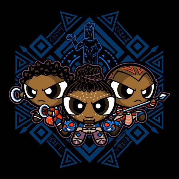 The Pantherpuff Girls