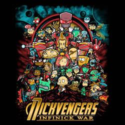 Nickvengers Infinick War by liu-psypher