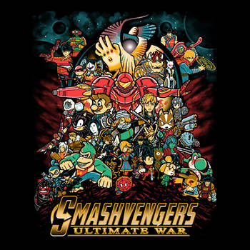 Smashvengers Ultimate War by liu-psypher