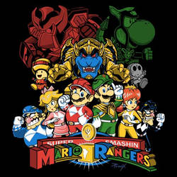 Mushroom Rangers by liu-psypher