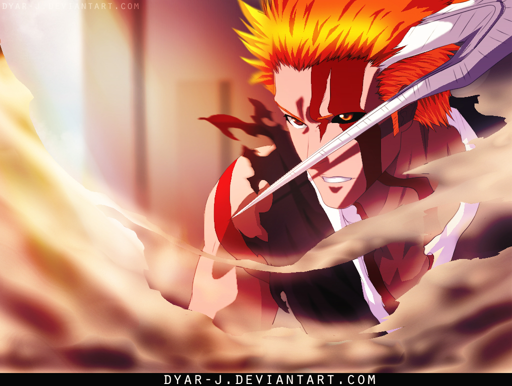 bleach 675 ichigo new form by Dyar-J by Dyar-J