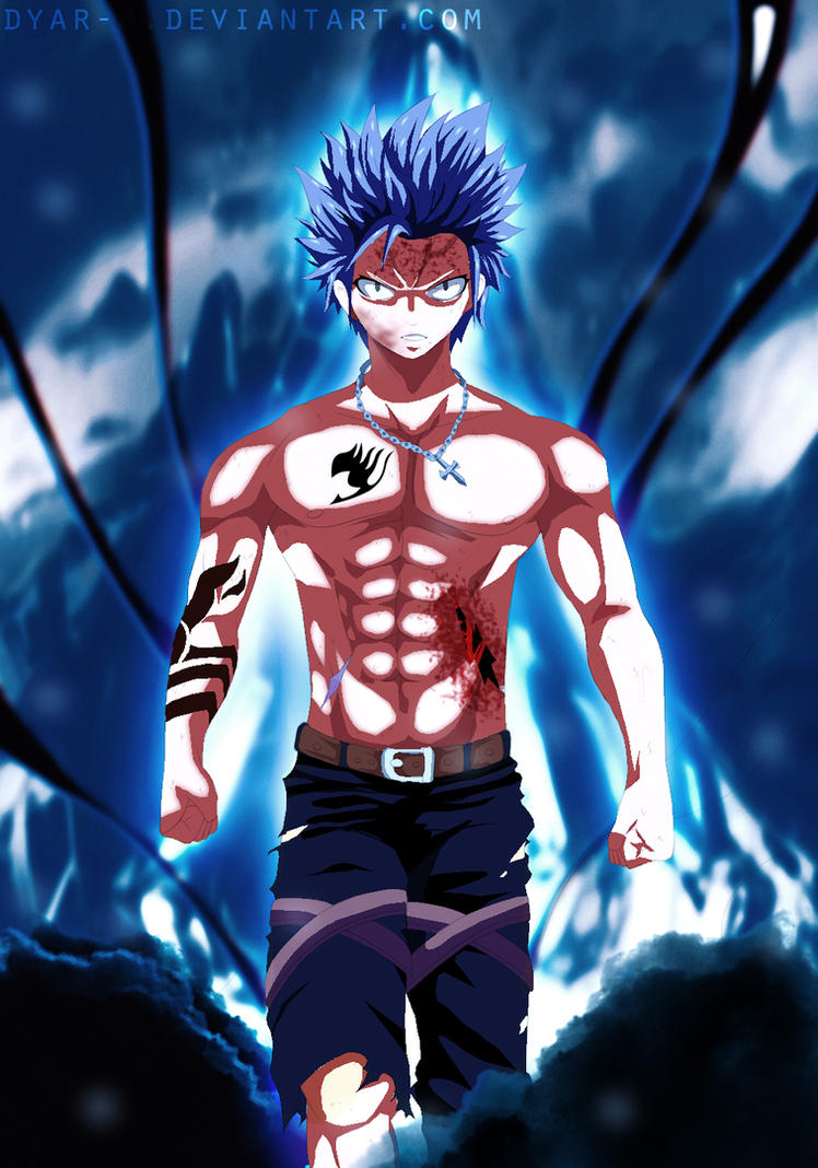 Fairy Tail Manga 499 Gray transformation by Dyar-J