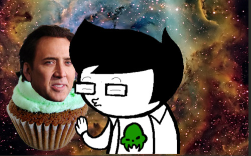 Jake Makes Out with a Nicholas Cupcage by shutupandpickaname