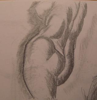 Female nude by jayduv