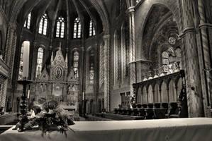 Matyas Church Budapest I by DooMourneR