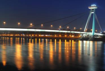 Bratislava bridge I by DooMourneR