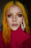I love Painting on Freckles by milleviola