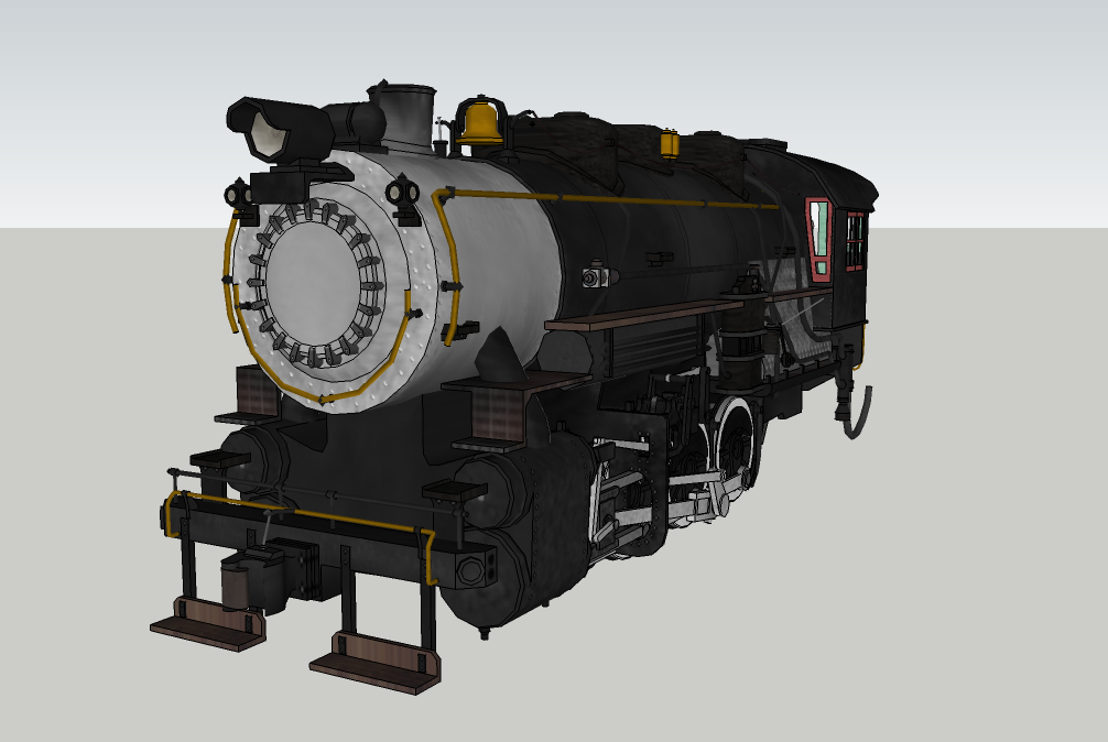 Usra 0-8-0 for Trainz finished in sketchup by stormsirens2 on DeviantArt