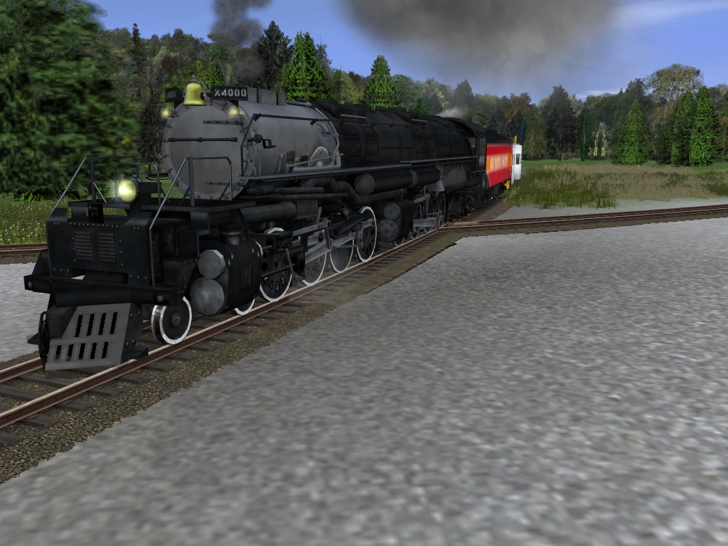 trainz big boy