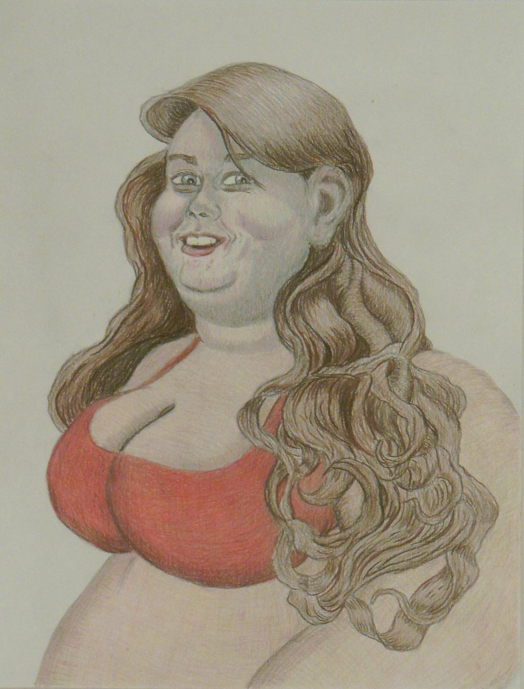 BBW Bigcutie Cherries portrait 2 almost complete by ENT2PRI9SE
