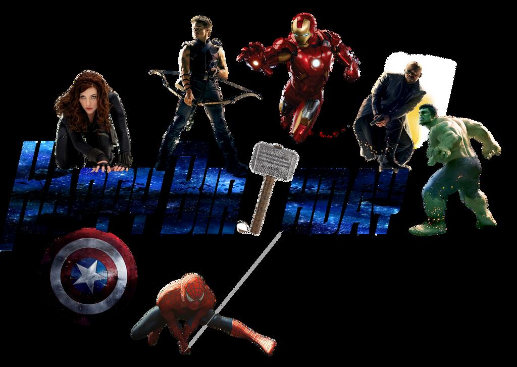 Image Gallery Avengers Birthday