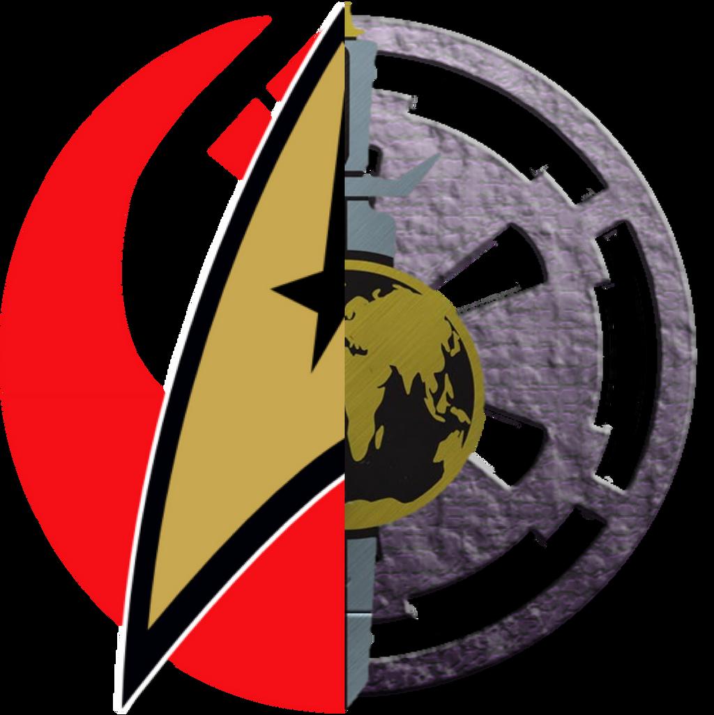 Star Trek Vs Star Wars Logos Good Vs Evil 1 Png By Ent2pri9se On