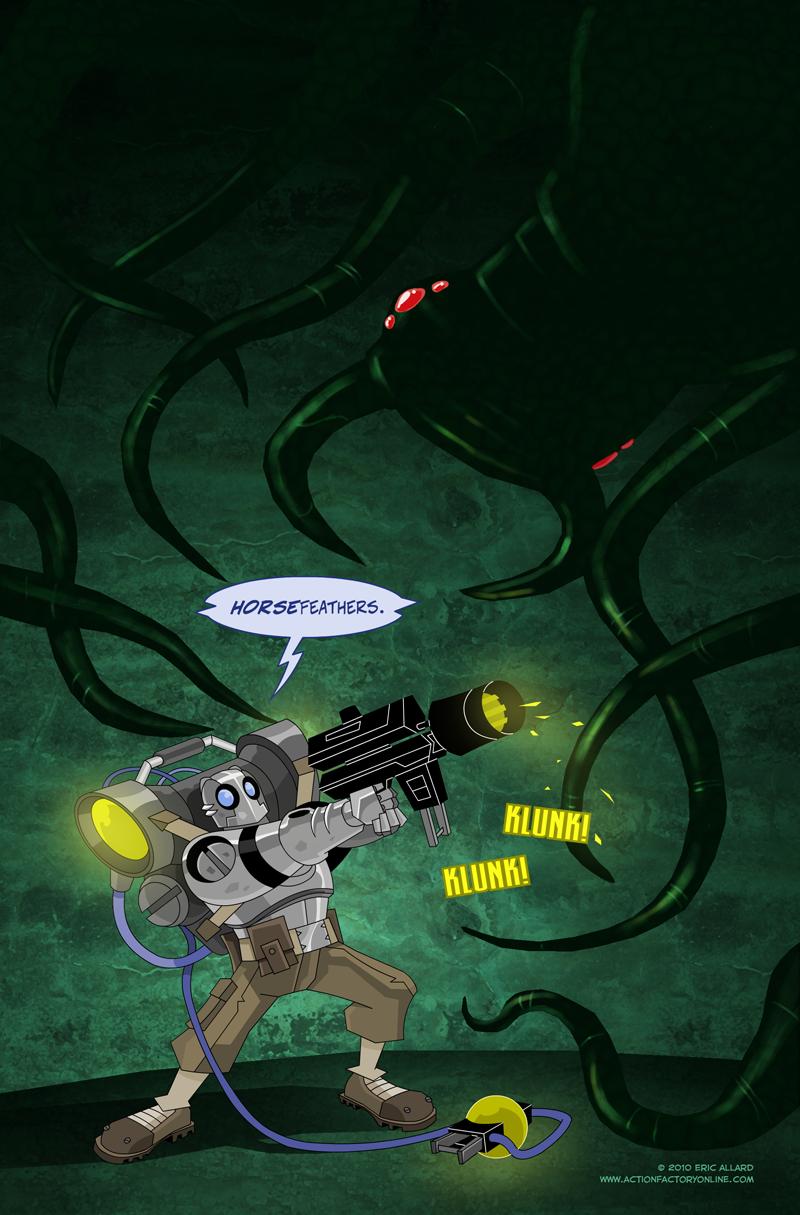 Atomic Robo by Shin-Herobot