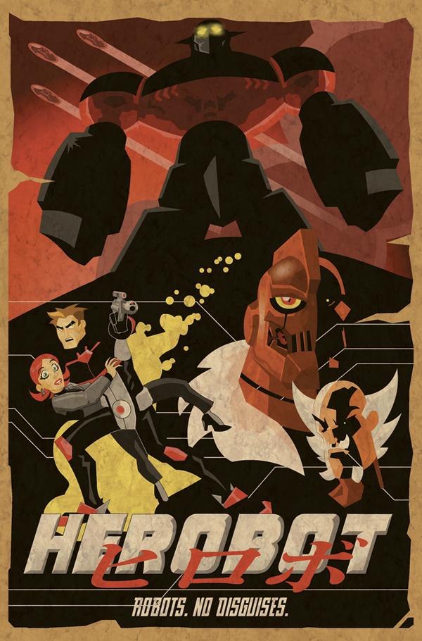 Herobot poster by Shin-Herobot