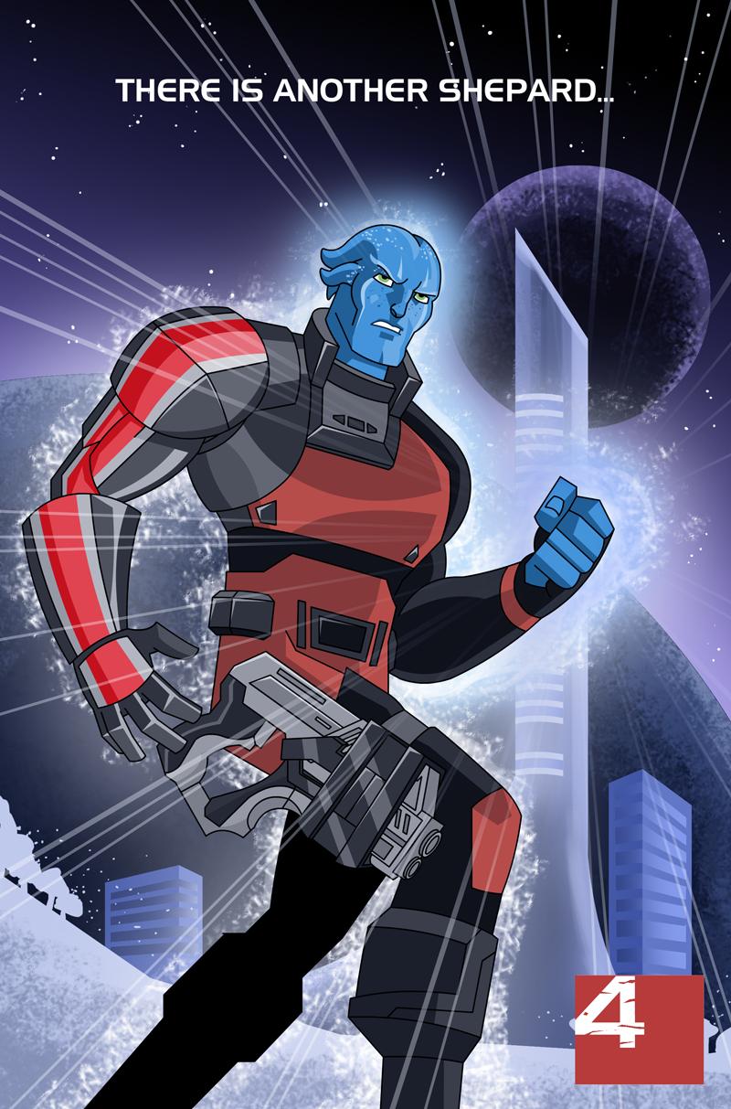 Mass Effect 4 by Shin-Herobot