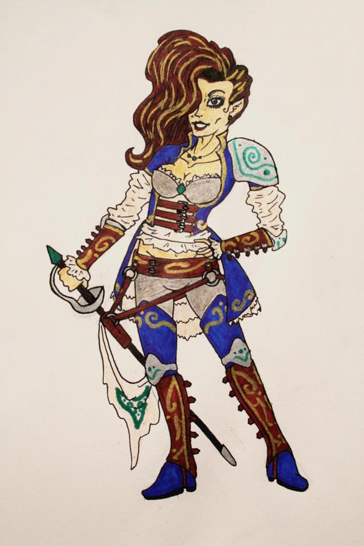 Fantasy Babe by irkeninvadermay