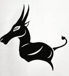 Abstract Antelope by ryunysus-the-great
