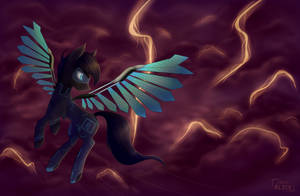 [CP] Dark Wave by AliceTriesToDraw