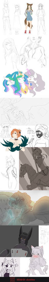 Sketch Dump #5