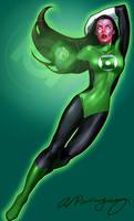Green Lantern-Iolande
