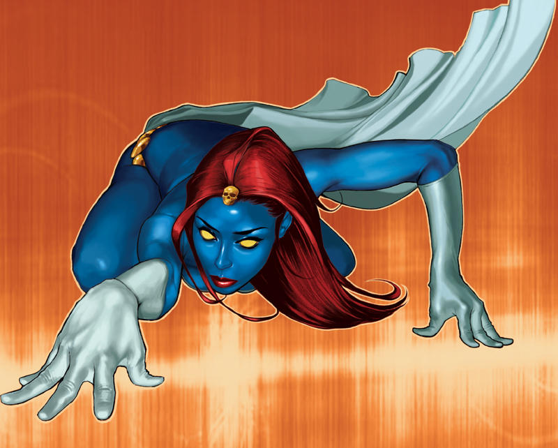 Mystique by aleciarodriguez