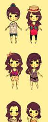 summer wardrobe by To-fu
