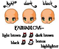 Smokey eyes  Kbeauty Eyeshadow Compacts by kaitlenxlove