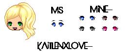 Maplestory vs. Recreation  Eyes #2 by kaitlenxlove
