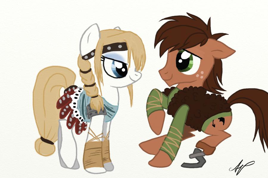 Dagur the Skrill-Pony by TheeEbonySouls.deviantart.com on