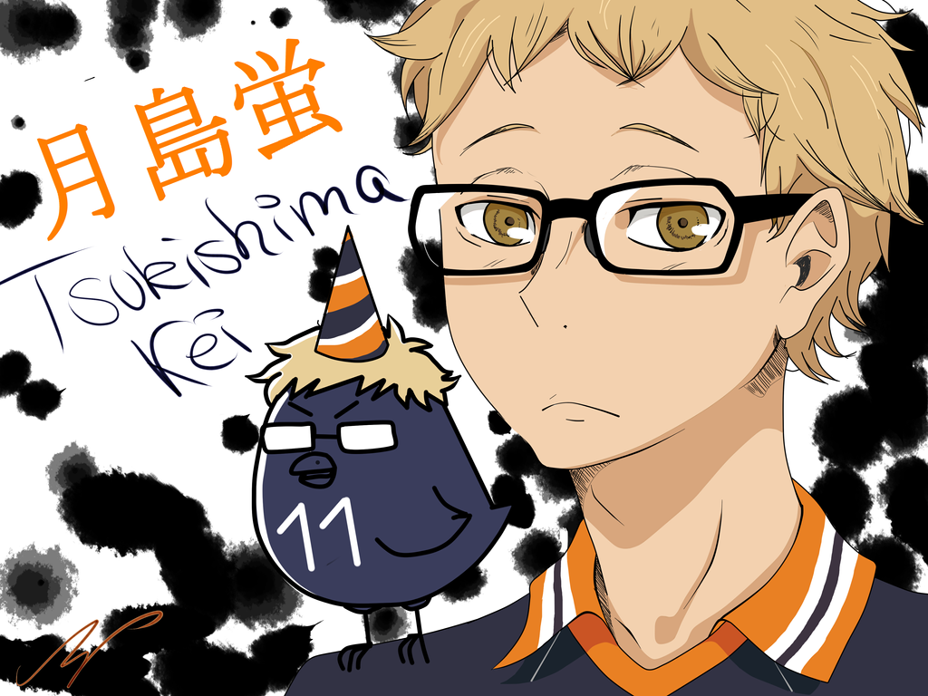 Happy B-Day! - Kei Tsukishima - Haikyuu! by ShibaSnowyNatural