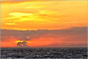 Sunset in Croatia by nrasic