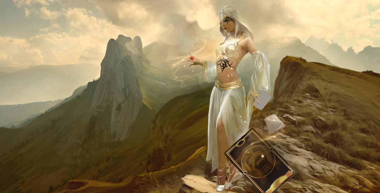 Goddess On The Mountain