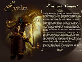 Sorche Character Bio: Kasager