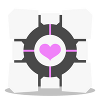 Companion Cube ID by Toob-Rat
